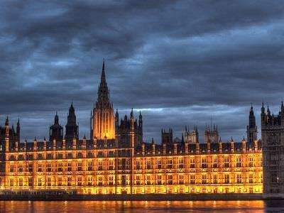Palace of Westminster and Big Ben  at Houses of Parliament and Big Ben