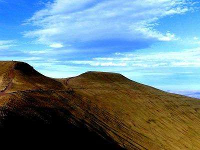 Pen Y Fan and Cribbyn  at Pen y Fan